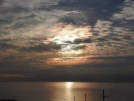 駿河湾の朝日31