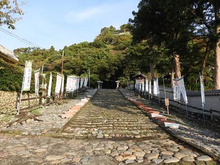 久能山東照宮07 石段の始まり