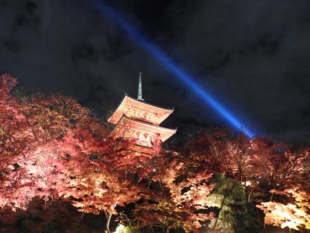 清水寺(夜)39 三重塔