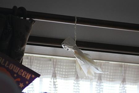 2011.10.23 居間 姫のてるてる坊主