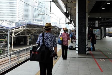 2014.07.24 東京駅 とき314 到着