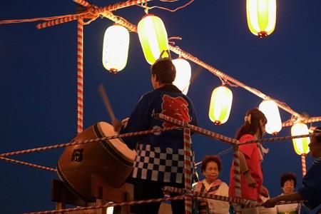 2014.07.26 公園 盆踊り