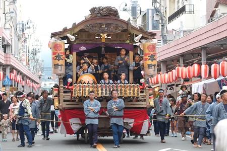 2014.08.03 甲子祭 山車