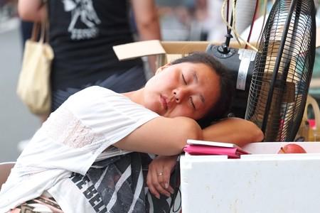2014.08.03 甲子祭 露店の女将