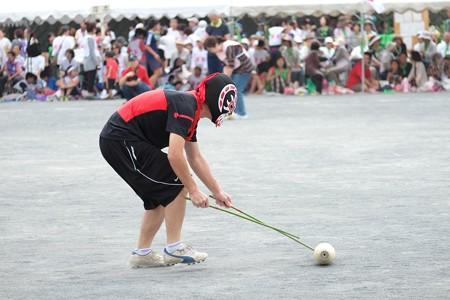 2014.10.04 小学校 町内対抗体育祭 ボーリング転がし