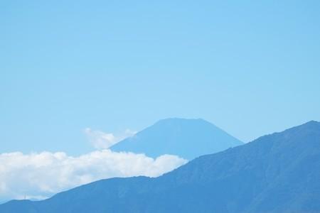 2014.10.14 駅前 富士山