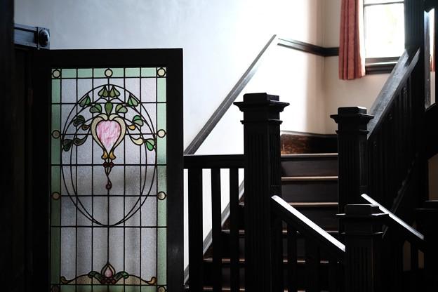 2015.10.02 山手 外交官の家 ドアと階段