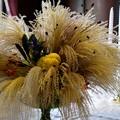 Photos: 2015.10.02 山手 外交官の家 食堂のテーブルに生花