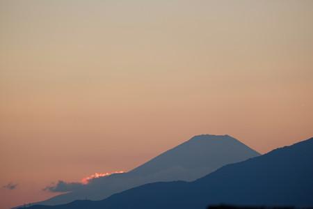 2015.10.12 駅前 富士山