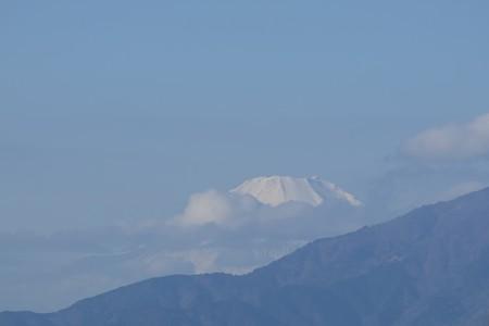 2015.12.28 駅前 富士山