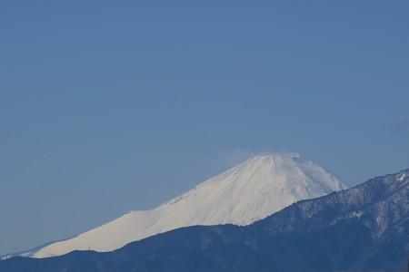 2016.01.20 駅前 富士山