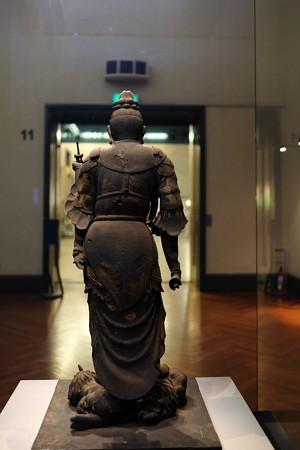 2016.02.17 東京国立博物館 木造毘沙門天立像 平安時代 C-1869-1