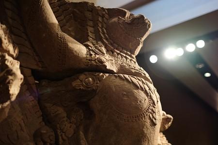 2016.02.17 東京国立博物館 ナーガの上のガルダ カンボジア TC-404
