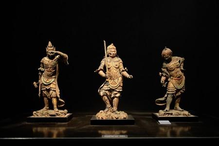 2016.02.17 東京国立博物館 十二神将立像 鎌倉時代 C-1852、1853、1878
