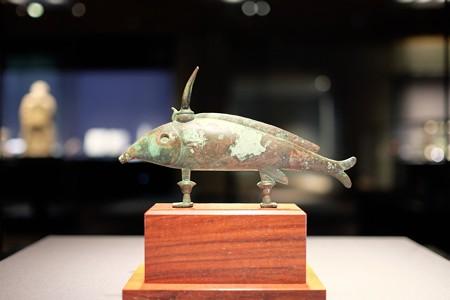 2016.02.17 東京国立博物館 聖魚オクシリンコス像 エジプト