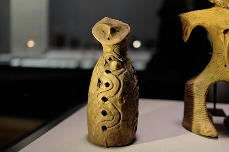 2016.02.17 東京国立博物館 筒型土偶 横浜 万博で見たかも