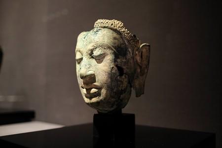 2016.02.17 東京国立博物館 如来頭部 タイ TC-78