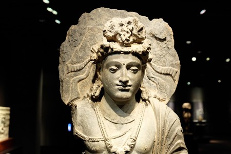 2016.02.17 東京国立博物館 菩薩交脚像 ガンダーラ