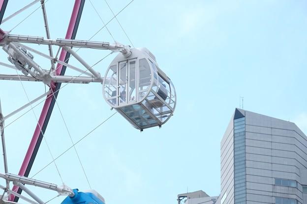 2016.04.11 みなとみらい コスモクロック21とランドマークタワー