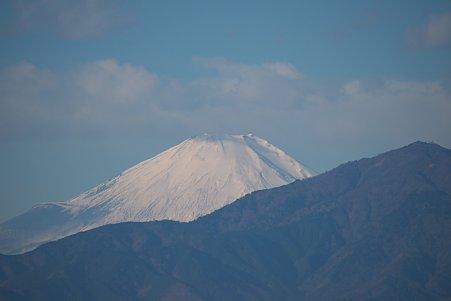2011.01.01 散歩道 富士山