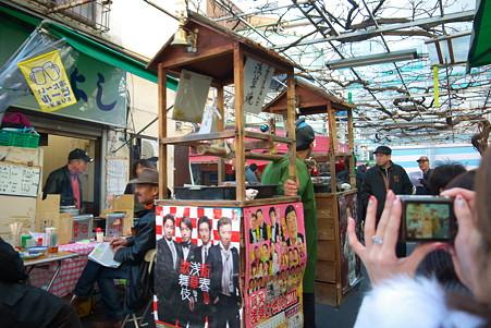 2011.01.09 浅草寺 路上の店