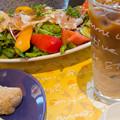 野菜マルシェの生ハムサラダ