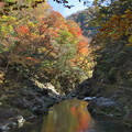 写真: 三段峡の秋(2)