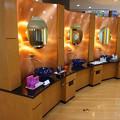きらびやかな化粧室