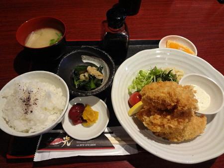 160129-2カキフライ定食