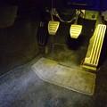 写真: フェアレディZ34 フットランプLED取付