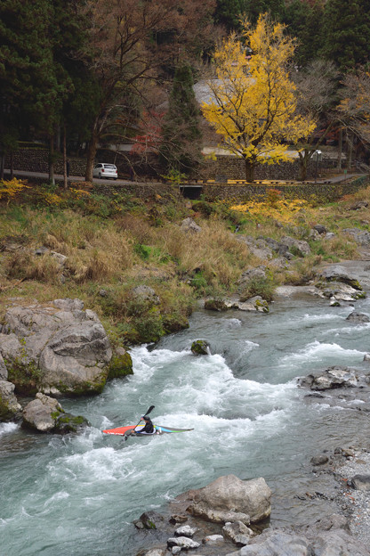 12奥多摩御岳の渓流