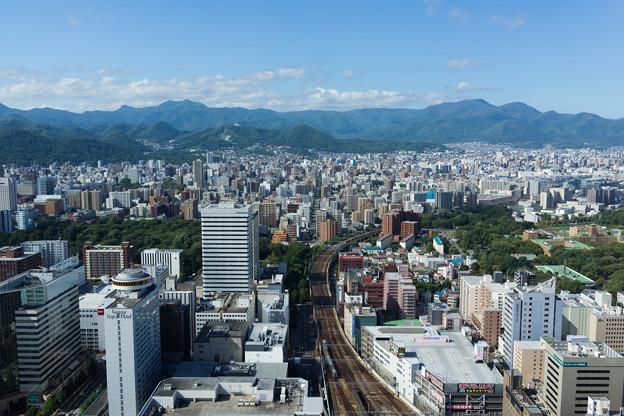 札幌の遠景