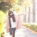 Photos: 光並木を・・・