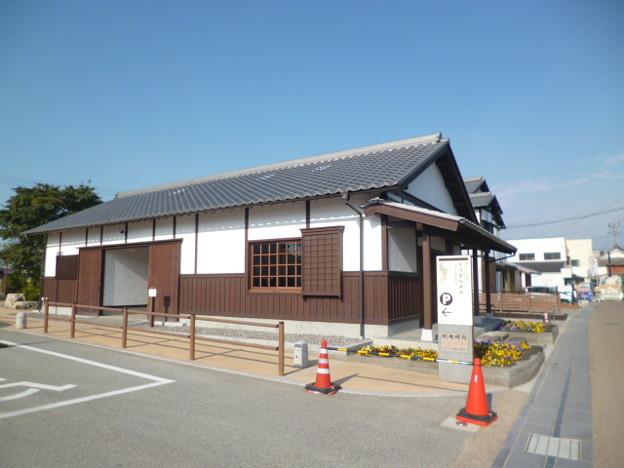 大川 藩境のまち広場休憩所