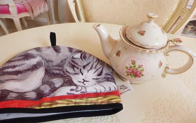 猫のティーコージー AfternoonTea