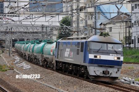 8097レ EF210-111[新]+タキ10B