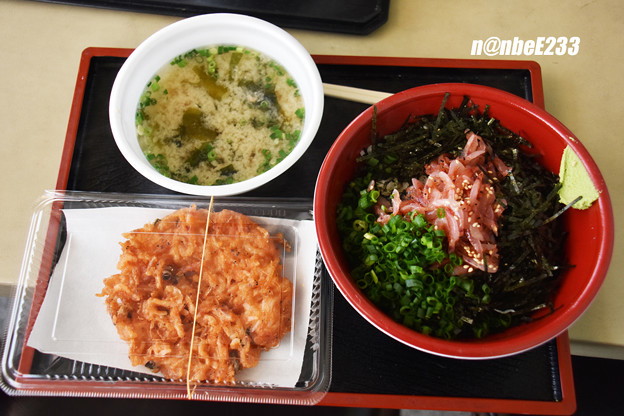 桜えびの沖漬け丼セット@1,000円