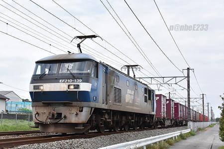 1090レ EF210-139+コキ