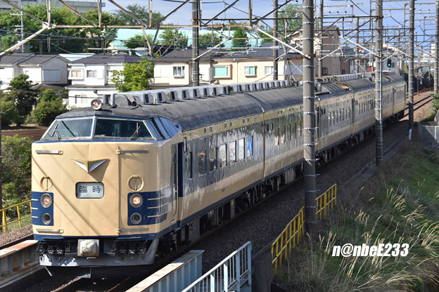 9735M「ニコニコ超会議号」 583系 秋アキN1・N2編成