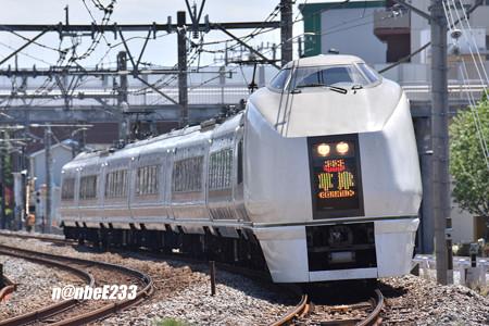 9083M 「草津83号」 651系-1000 OM202編成