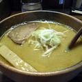 写真: 洋風味噌拉麺@熊人・上田市
