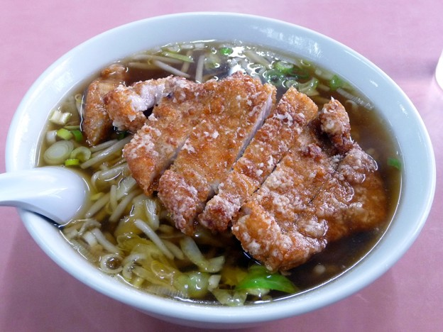 排骨麺@松園・筑西市