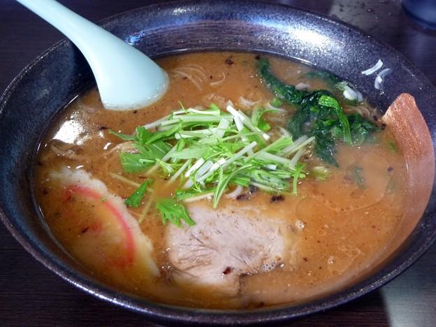 濃醤油・太麺@山びこ・取手市