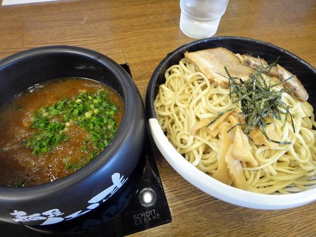 濃厚つけ麺・大盛@くるしま・広島県府中町
