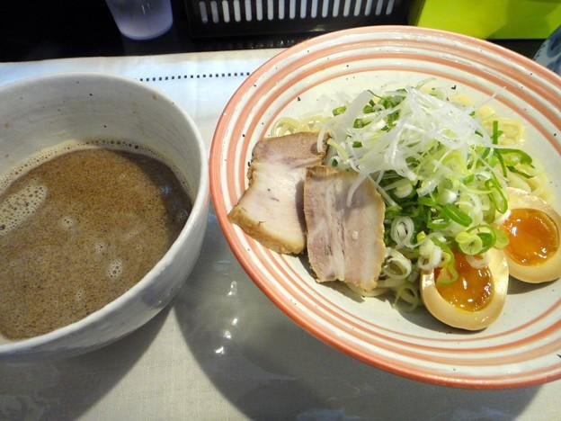 つけ麺(並盛)・冷たい麺+味付玉子@よろしく・東広島市