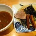 Photos: 豚骨魚介つけ麺・大盛@純・新居浜市