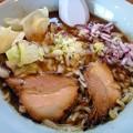 Photos: 豚と魚介の味噌+やすこトッピング@力丸・佐久市