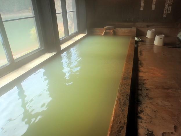 早戸温泉 つるの湯・内湯@福島県三島町
