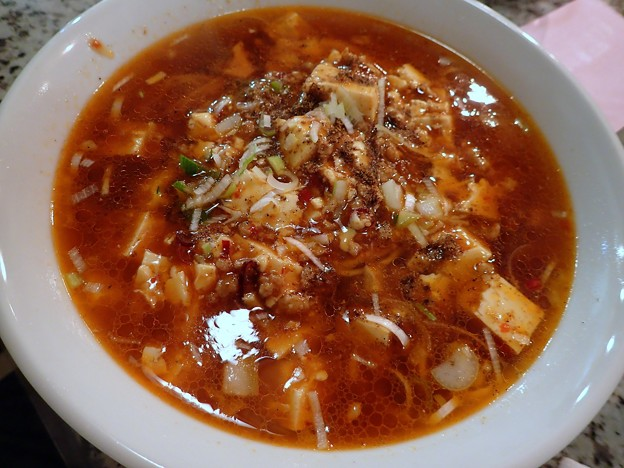 麻婆麺@中国料理 上海大町店・福島市