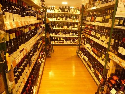 ナショナル~ワイン売り場